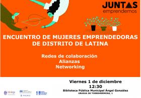 Encontrarse con Mujeres Emprendedoras del distrito de Latina